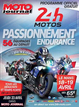 calam o programme 24h motos du mans. Black Bedroom Furniture Sets. Home Design Ideas