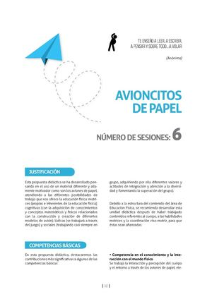 Avioncitos De Papel