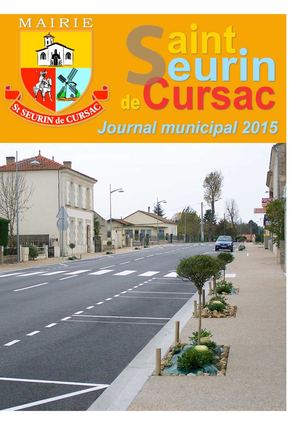 Journal Municipal Saint Seurin 2015