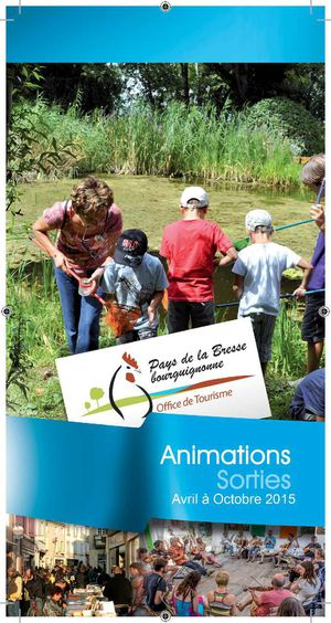 Guide Animations et sorties 2015 en Bresse Bourguignonne