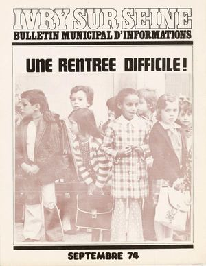 Bulletin municipal d'information - septembre 1974
