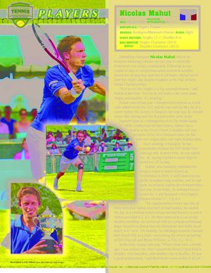 2014 Hall of Fame Tennis Championships - Player Program
