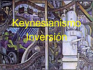 Keynesianismo Inversion
