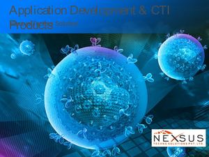 Nexsus Techno Solution- Application Development & Cti Products