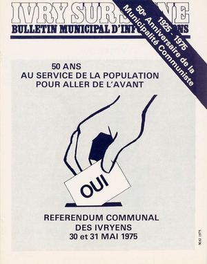 Bulletin municipal d'information - mai 1975
