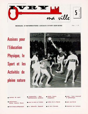 Ivry ma ville n°5 - avril 1970
