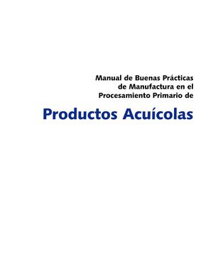 Manual Productos Acuicolas