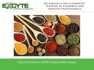 The Right Way To Execute A SPICE Analysis With FlowJo