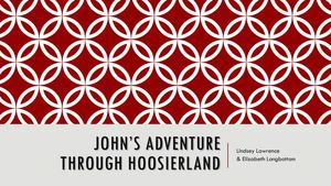 Ebook-John's Adventure in Hoosierland
