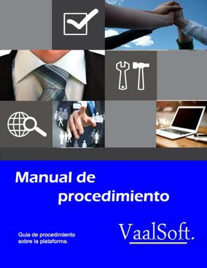 Manual De Procedimiento Vaalsoft