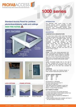 Profab 1000 Series MD Binder