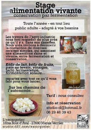 23 - Stage Alimentation Vivante