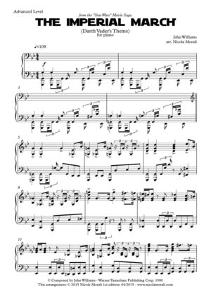 Calaméo - The Imperial March - For Piano - Sheet Music