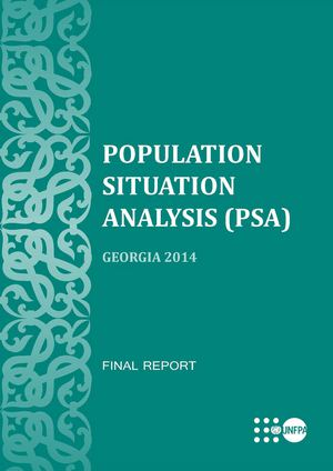 Population Situation Analysis (PSA) Georgia 2014