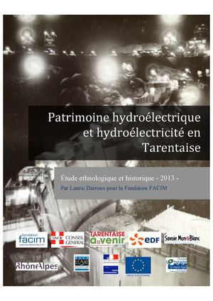 Barrages Hydrolectricite Tarentaise Fondation Facim