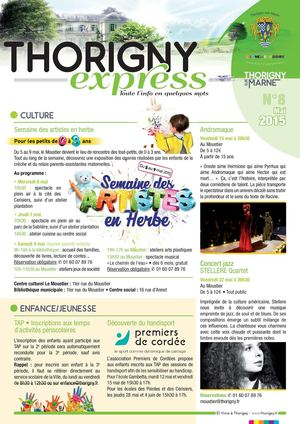 Thorigny Express Mai 2015 n°8