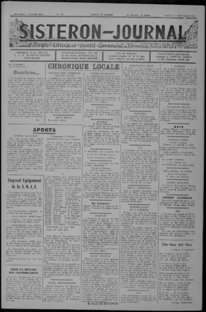 Le Sisteron Journal du 17/09/1955