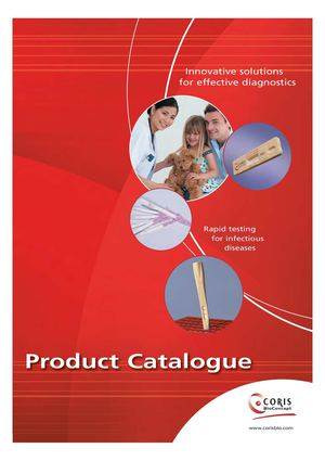 Coris Product Catalogue 2015