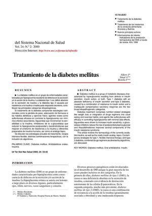 fisiopatología de la diabetes defronzo