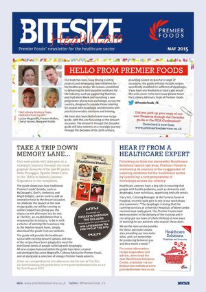 Bitesize Healthcare April 2015
