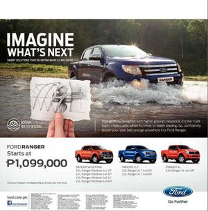 Calaméo Ford Ranger Starts At P Visit Your Nearest Ford - Nearest ford dealership