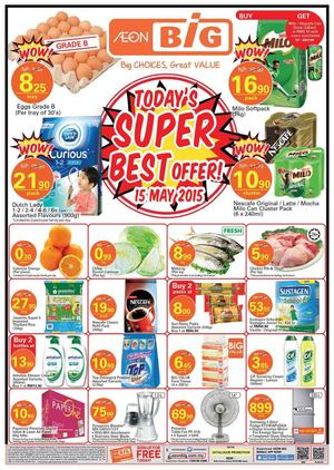 Todays Super Best Offer At Aeon Big Offers Valid On May 15 2015 66445