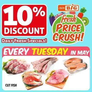 Enjoy 10 Discount On Cut Fish At Aeon Big Valid Till May 26 201566447 66447