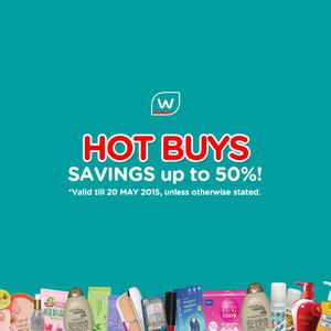 Hot Buys Up To 50 Off At Watsons Offers Valid From Now Till May 20 2015 66450
