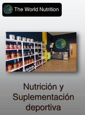 Catalogo Productos - The World Nutrition