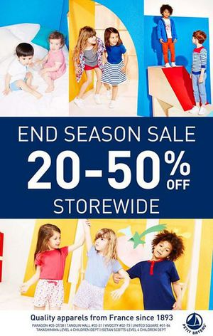 End Of Season Sale With Up To 50 Off At Petit Bateau For A Limited Period Only66489 66489