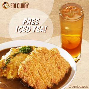 Get Free Iced Tea When You Order Any Of The Omelette Curry Plates At Eri Curry From May 15 17 201566502 66502