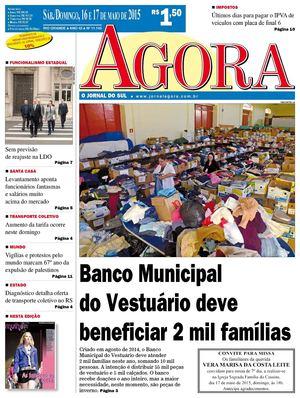 Calaméo - Jornal Agora - Edição 11145 - 16 e 17 de Maio de 2015 eec7bcddd5ff5