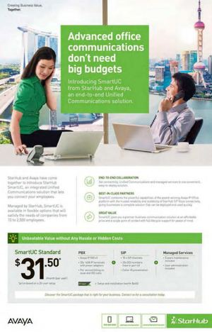 Advanced Office Communications Dont Need Big Budgets With Starhub Offer Valid While Stocks Last 66848