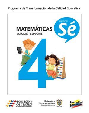 Calaméo - 4° Matemáticas Libro Estudiante
