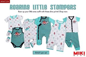 Roar Up Your Little Ones Outfit With Dino Prints From Miki Kids While Stocks Last67396 67396