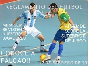 Calaméo - Reglamento Del Futbol Sala (1) 8b6622e735285