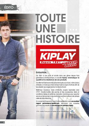 Catalogue Kiplay 2015