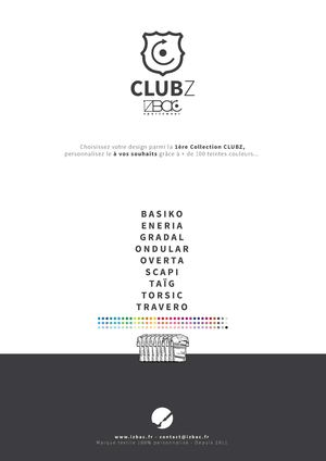 Catalogue Clubz Izbac