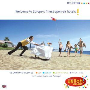 Calameo Yelloh Village Brochure 2015 Uk