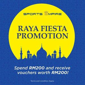 Get A Rm200 Voucher With Minimum Spend Of Rm200 At Sports Empire While Stocks Last68174 68174