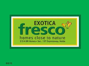 Exotica Fresco Resale and Rent Sector-137 Noida-9999684905