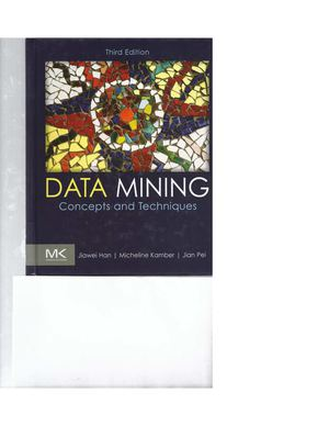 Data Mining Concepts And Techniques Third Edition