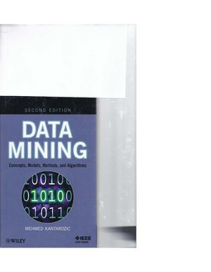 Data Mining Concept%2c Models%2c Methods%2c And Algorithms Second Edition