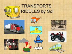Transports Riddles Sol
