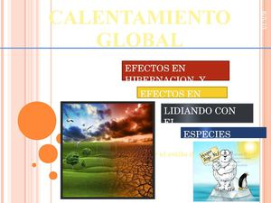 Calentamiento Global Cesar Almestar