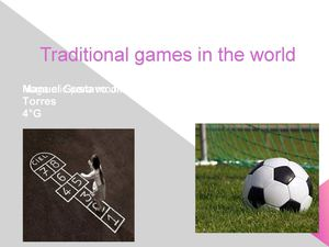 Ingles TRADITIONAL GAMES