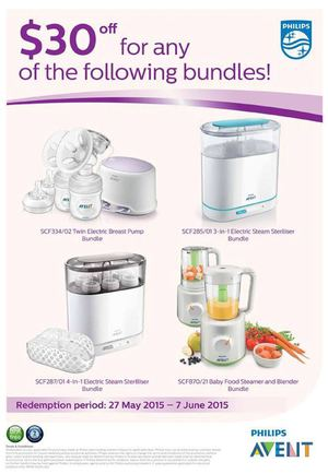 30 Off For Any Of The Following Philips Bundles At Isetan Offers Valid From May 27 To June 7 201568194 68194