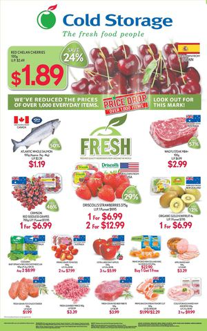 Freshest Quality Ingredients From Around The World Available At Cold Storage Till June 11 201568196 68196