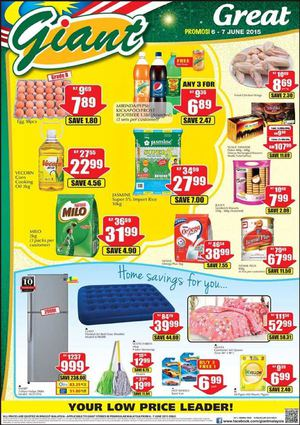 Great Weekend Offers At Giant Offers Are Valid From June 6 7 2015 Peninsular Malaysia 68208
