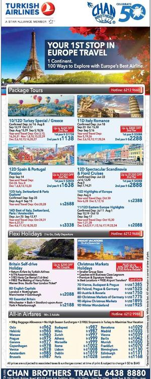 Your 1st Stop In Europe Travel At Chan Brothers Travel Book Now While Seats Last 68216